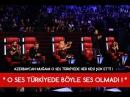 Исполнение Сары Гялин азербайджанцем в музыкальном шоу Голос Турции