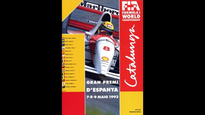 F1 1993. 05. Гран-При Испании, гонка