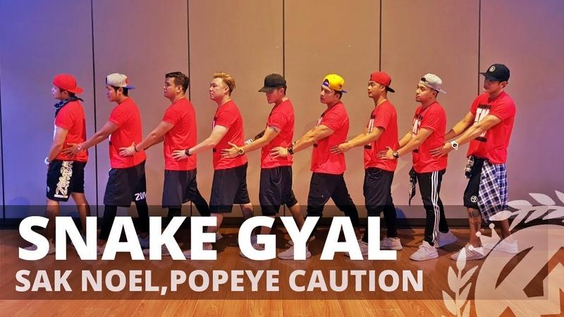 SNAKE GYAL by Sak Noel,Popeye Caution | Zumba | Barnaton | TML Crew Kramer Pastrana