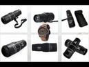 Монокуляр Bushnell для наблюдения на охоте, на рыбалке и на природе Часы Panerai Luminor в подарок - YouTube