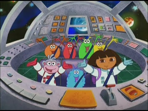 Даша помогает инопланетянам. Даша путешественница в космосе