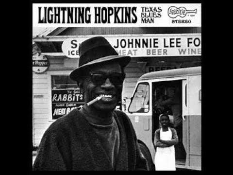 LIGHTNIN HOPKINS - THE WOMAN IM LOVIN ,SHE IS TAKEN MY APETITE - NEWPORT FOLK FESTIVAL- 1962