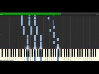 Вуншпунш формула (фортепиано. Synthesia)