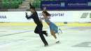 ISU 2014 Jr Grand Prix Ljubljana Short Dance Brianna DELMAESTRO Timothy LUM CAN