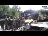 Украина  Донбасс Видео с передовой! Наступление ополченцев на позиции нацгвардии  ДНР, ЛНР 22 07 201