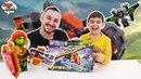 Папа Дома • Папа Роб и Ярик сборка мотоцикла из конструктора LEGO NEXO KNIGHTS!