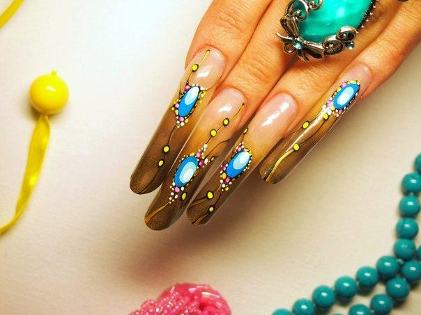 Представленны примеры дизайн ногтей