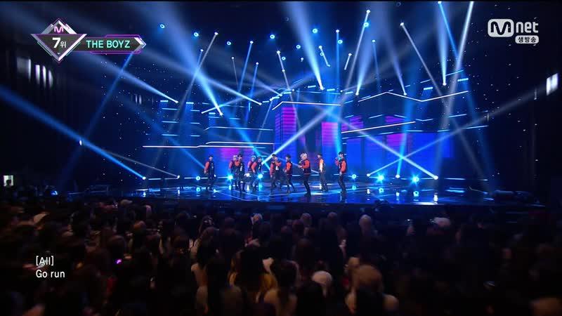180510 Mnet 엠카운트다운 더보이즈 Giddy Up -세터