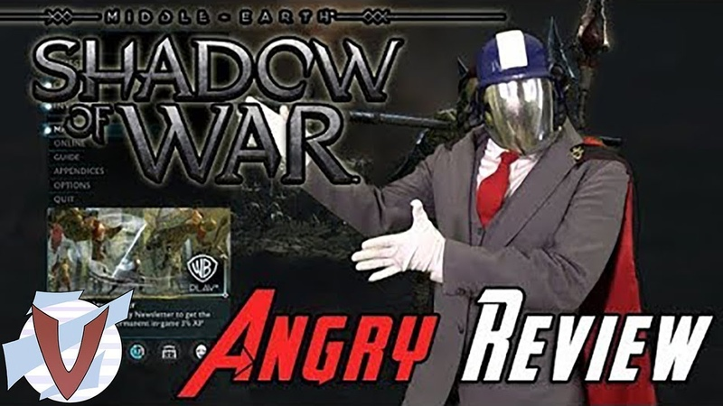 Shadow of War Angry Joe RUS RVV