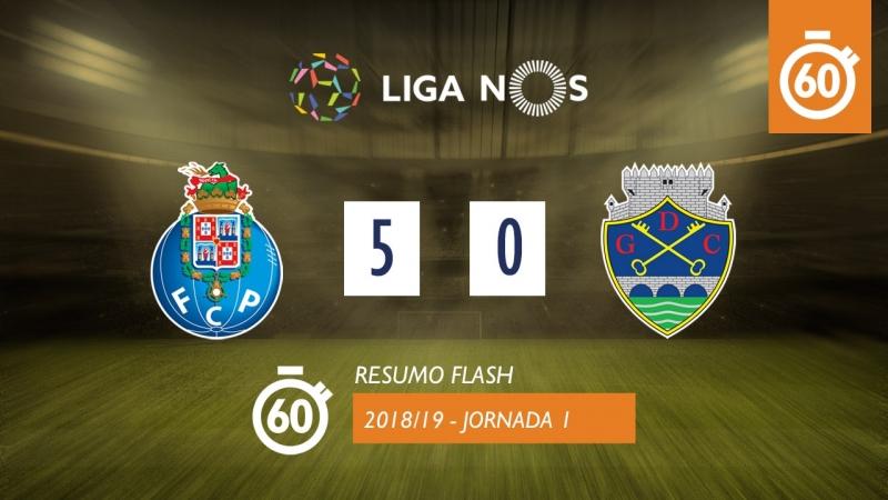 Лига НОШ 2018/19 (Тур 31): Порту – Дешпортиву де Шавиш 5:0 (лучшие моменты)