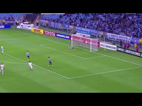 Gol de Javier Correa, Gremio 0 x 1 Godoy Cruz, LIB...