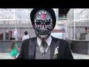 Мексиканцы репетируют День мертвых в Гостином дворе