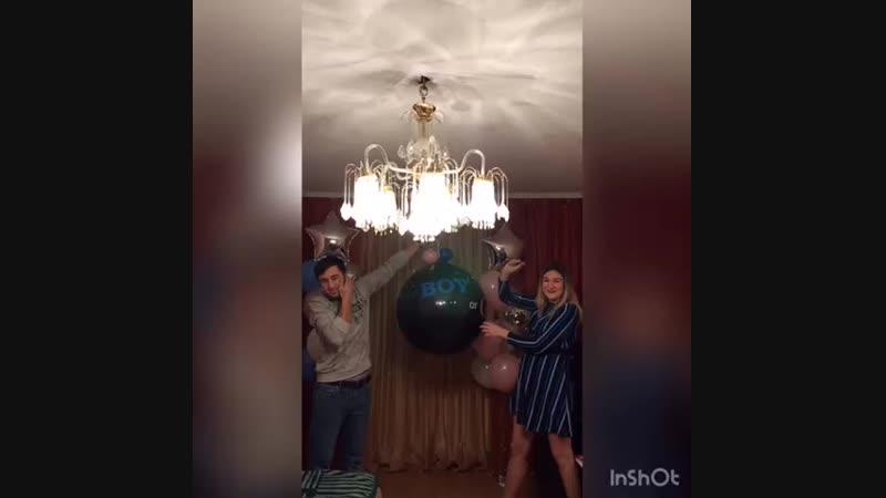 Гигантский шар выявить пол ребенка
