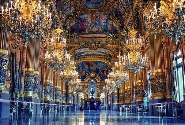 Опера Гарнье, Париж, Франция