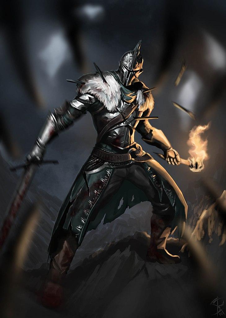 Dark Souls fan-art VUqgIS4QTuQ