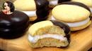 ЧОКО ПАЙ в Домашних условиях | Choco Pie. ENG SUB | Кулинарим с Таней