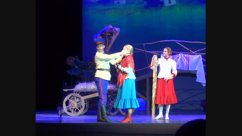 Бабий бунт - сцена и дуэт Маринки и Семки