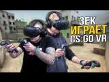 ЗЕК ИГРАЕТ В CS_GO VR