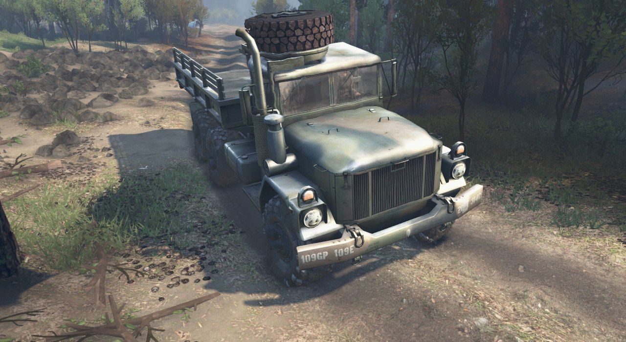 Army truck M35A2 для 23.10.15 & 8.11.15 для Spintires - Скриншот 3