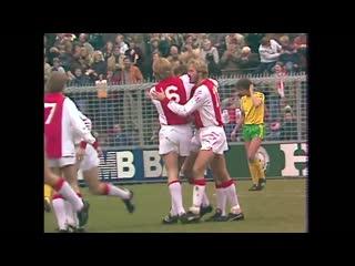 On this day in 1982, Ajax demolished ADO Den Haag in a Eredivisie showdown at stadium De Meer