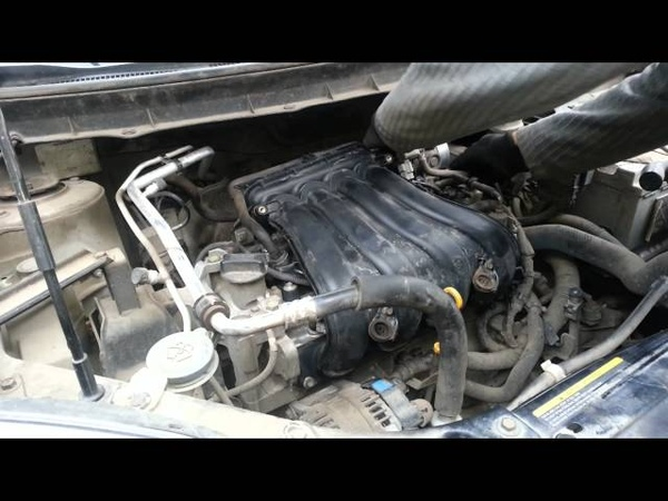 Замена свечей на Nissan X Trail Часть №2 Чистка дроссельной заслонки Сборка
