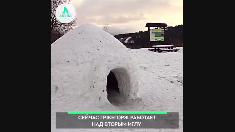 Поляк построил иглу | АКУЛА