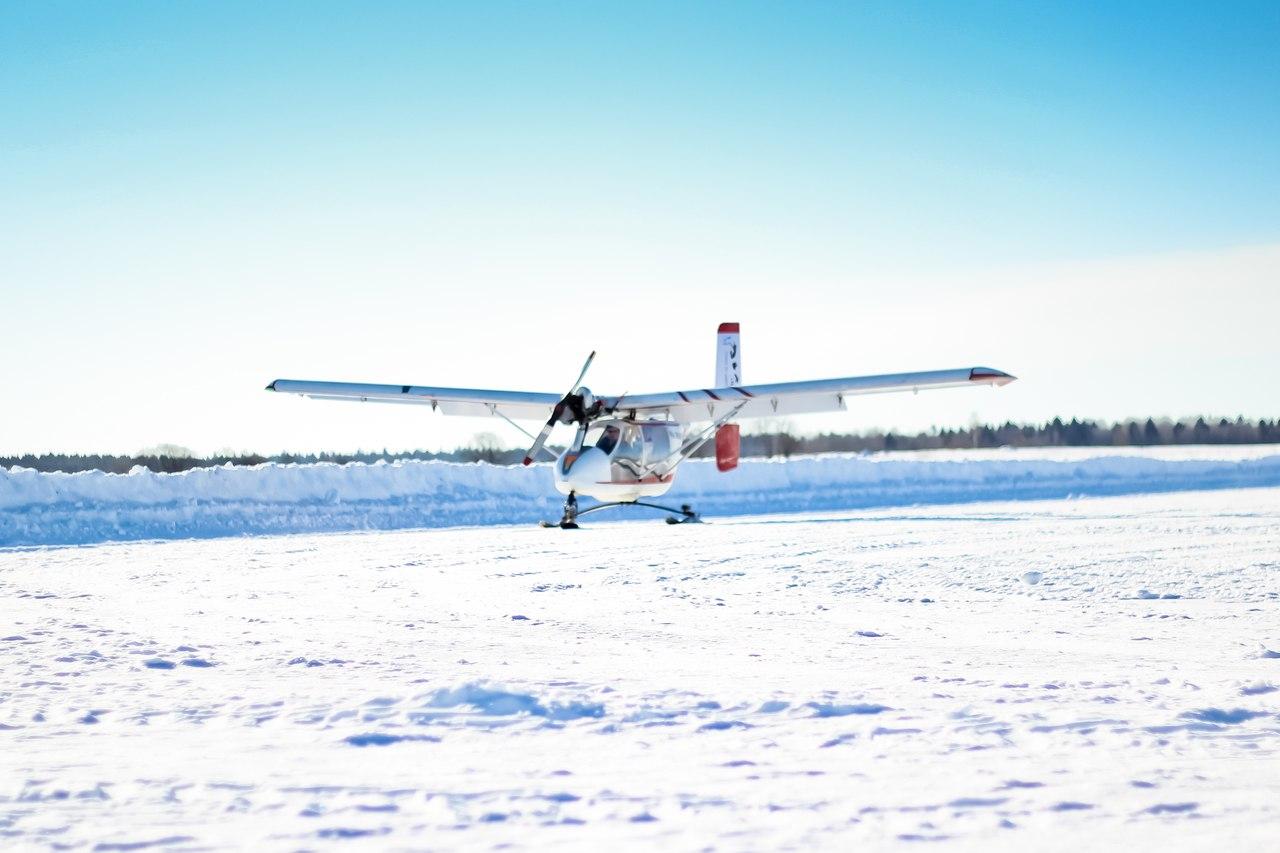 Полет на самолете В2