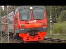 Флешмоб на железнодорожном переезде №60 Дмитров-Яхрома
