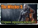 Ведьмак 3 Дикая Охота ☢ Стрим-прохождение 1