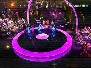Андрей Дрофа на шоу Яка то мелодія (Jaka to melodia?) - финал