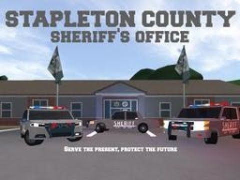 Roblox Stapleton County Sheriff's Office Episode 1 - Welcome to Stapleton County, Firestone
