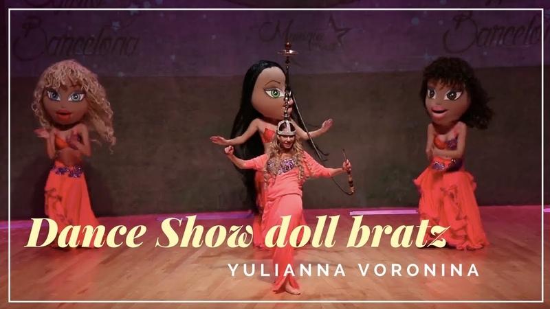 Oriental Belly Dance Show Shisha Yulianna Voronina Belly Dancer Spain Barcelona Dance doll bratz