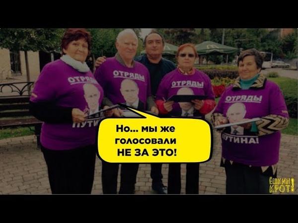 За что проголосовали избиратели Путина