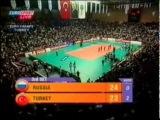 Чемпионат Европы по волейболу 2003, Турция, групповой этап, Россия-Турция, 0-3, 5 место