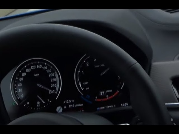 BMW X2 M35i Launch Control TOP SPEED and FAST CORNERING Perfect M Performance SAV 4k