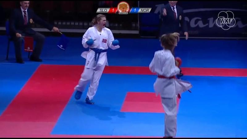 Тьяса Ристич (Словения) - Беттина Альштадстэтер (Норвегия)