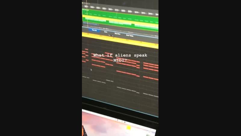 Что если инопланетяне говорят на языке MIDI