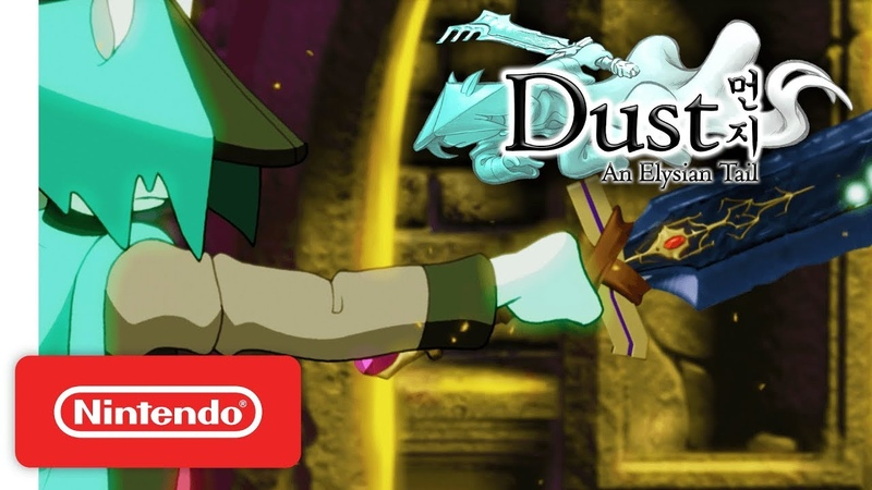 Dust: An Elysian Tail - Launch Trailer - Nintendo Switch