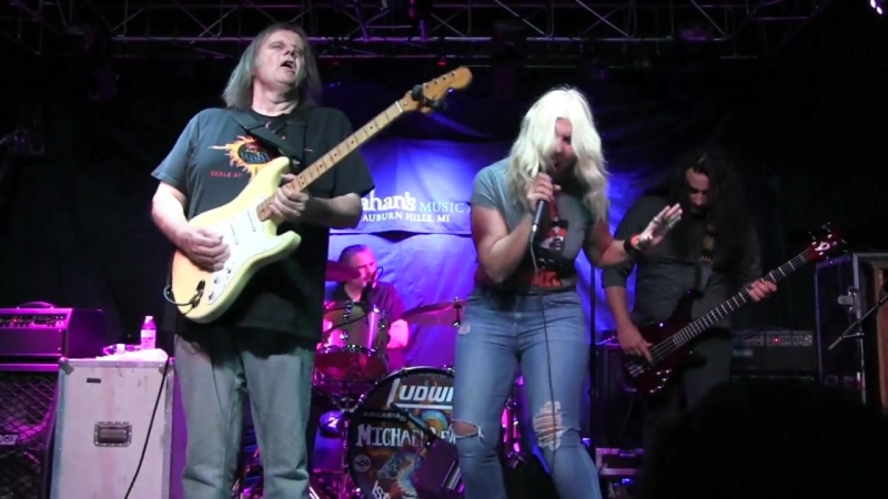 ELIZA NEALS with WALTER TROUT BAND