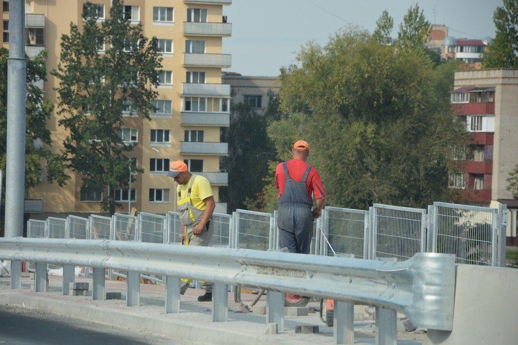 С 15 сентября изменится движение на Кобринском мосту и для водителей, и для пешеходов