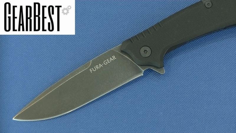 Нож Fura Gear c GearBest первый взгляд