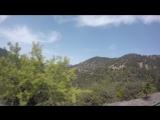 На подъезде к Кикскому монастырю высота 1200 над уровнем моря.Кипр 2018