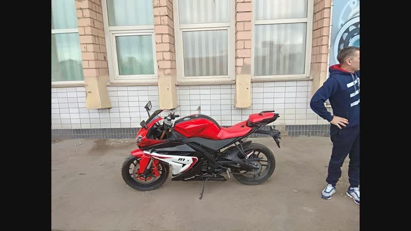 Покупка нового мотоцикла Motolend R1