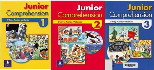 Junior Comprehension Book 1, 2, 3 (Longman Pearson Education)