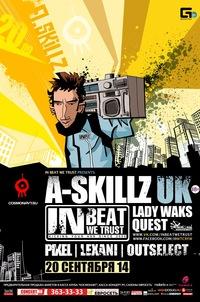 20 Sept 2014 - IBWT feat. A.SKILLZ @ Cosmonaut