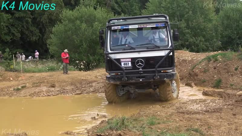 8x8 Mercedes-Benz truck in Europe truck trial _ Off-Road _ Langenaltheim, Germany 2018 _ no. 402