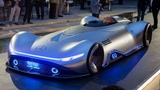 Mercedes-Benz Vision EQ Silver Arrow Concept - vision of the future from Mercedes