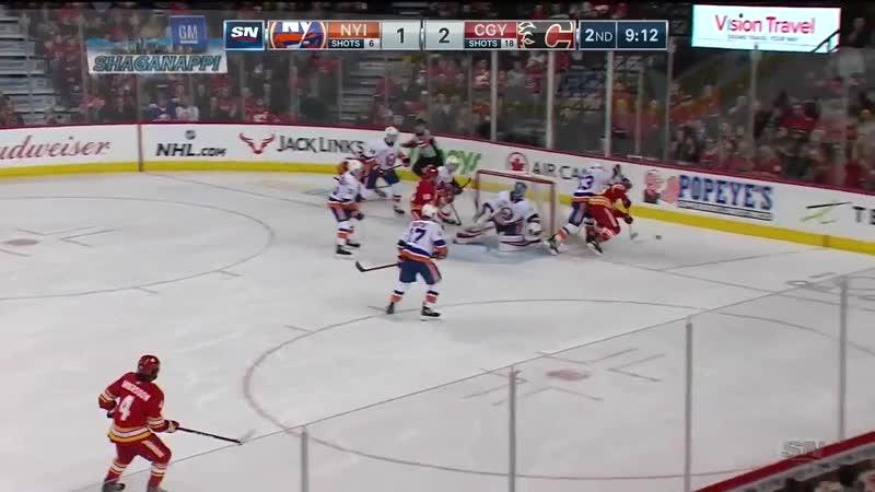 NHL Highlights _ Islanders vs. Flames - Feb 20, 2019