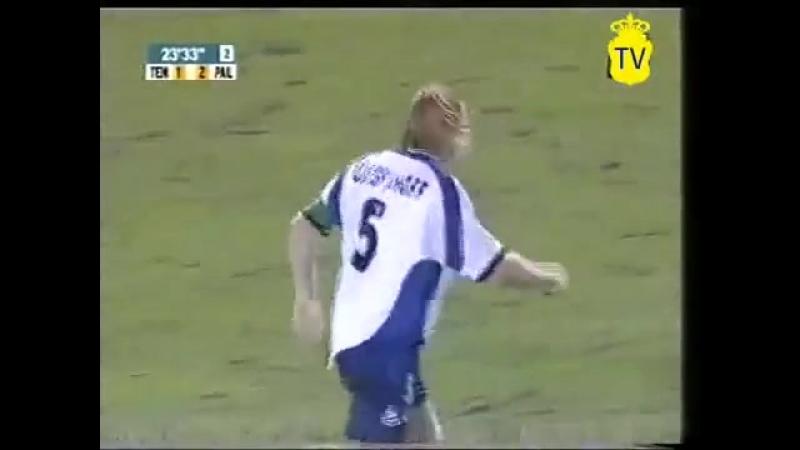 CD Tenerife vs UD Las Palmas 2001-2002 2 parte futbol