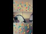 Juan Martin Del Potro celebrates victory BNPPO18